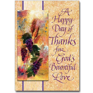 A Happy Day of Thanks Card