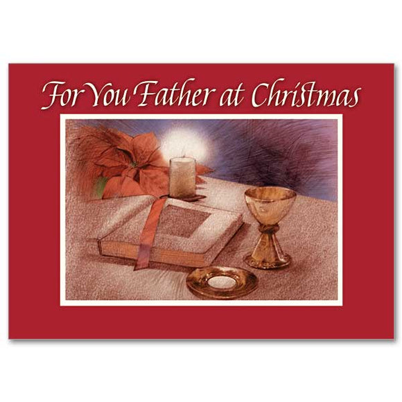 For You Father Christmas Card