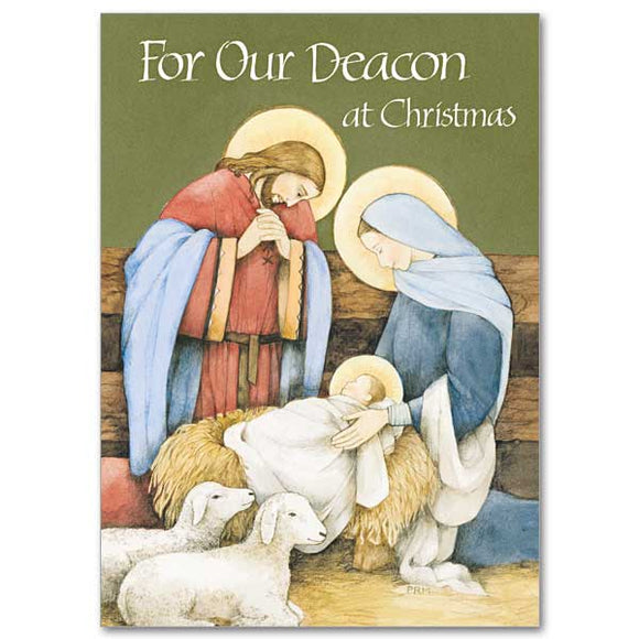 For Our Deacon Christmas Card