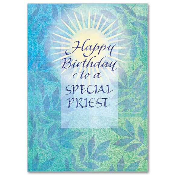 Happy Birthday to a Special Priest