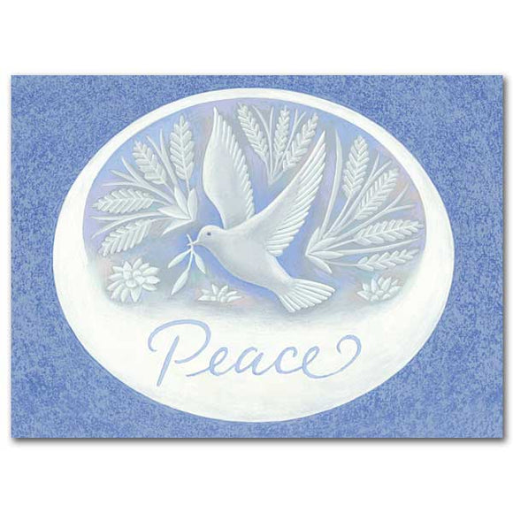 Peace Dove Christmas Cards