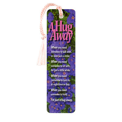 A Hug Away Bookmark