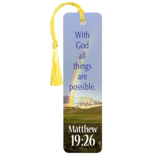 With God Bookmark