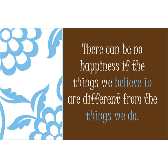 Happiness Scripture Card