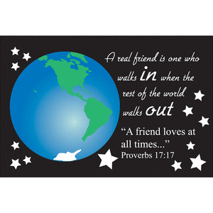 Friendship Scripture Card