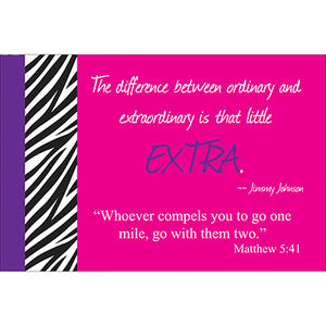 Go Further Scripture Card
