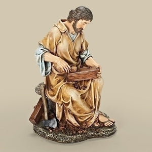 "10.25"" St. Joseph the Carpenter Figure"