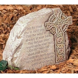 "8"" Celtic Cross Garden Stone"