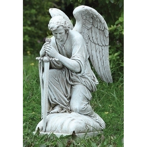 Outdoor Kneeling Male Angel
