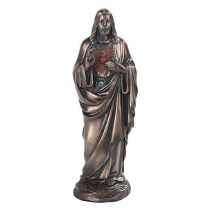 Bronze Sacred Heart of Jesus 5""