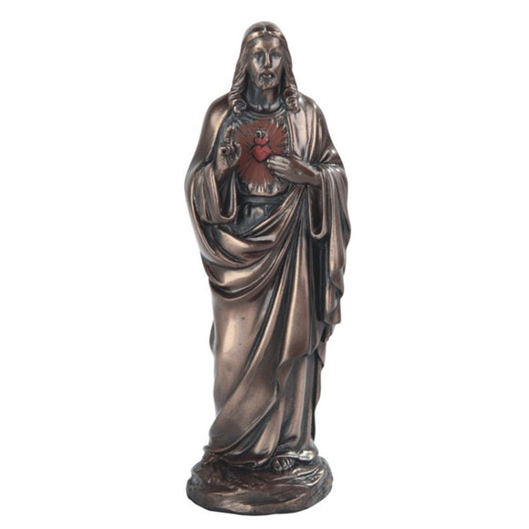 Bronze Sacred Heart of Jesus 5