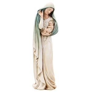 "12"" Madonna and Child Figure"
