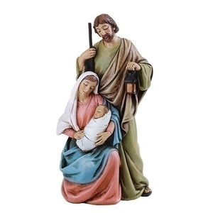 "4"" Holy Family Statue"