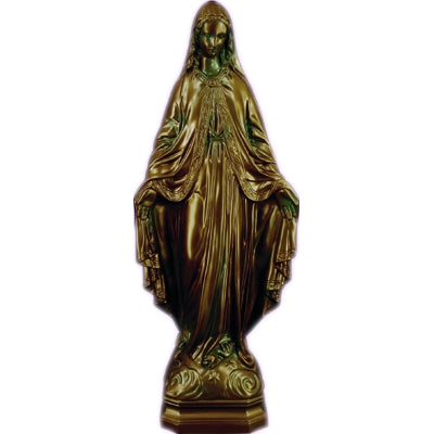 24 inch Our Lady Of Grace - Bronze Finish