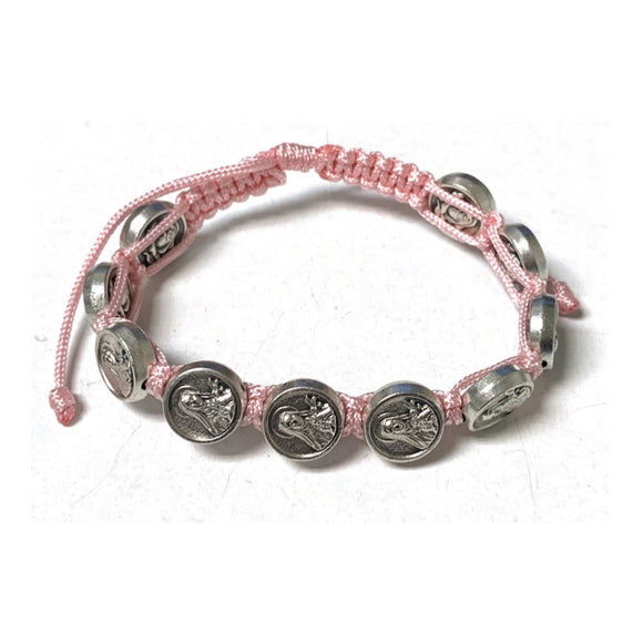 St. Therese Youth Cord Bracelet