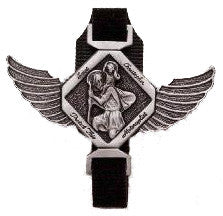 St. Christopher Velcro Motorcycle Clip