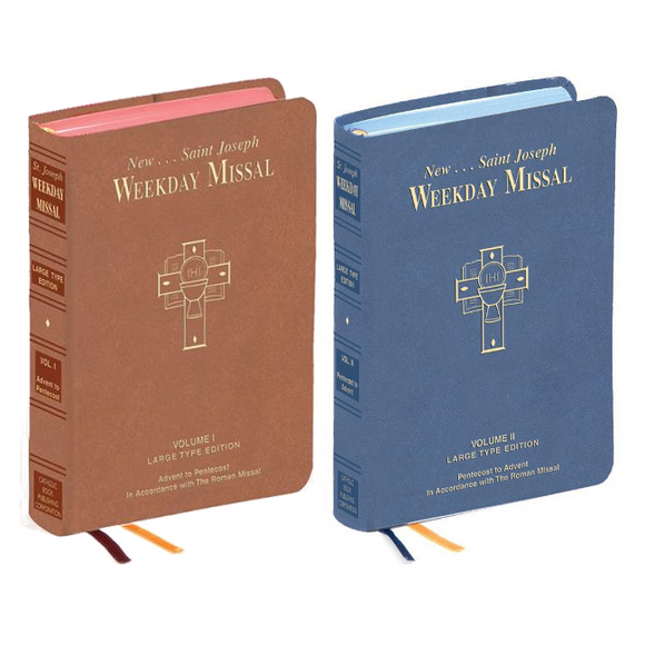 St. Joseph Weekday Missal (Large Type)