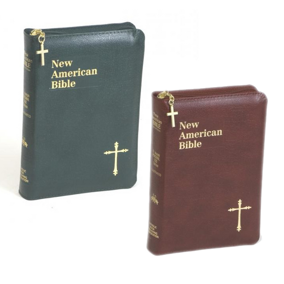 New American Bible Personal Size Gift Edition with Zipper