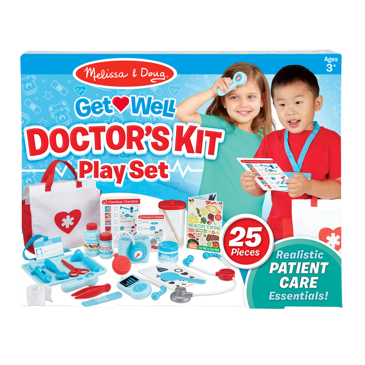 Melissa and Doug Doctor's Kit Play Set