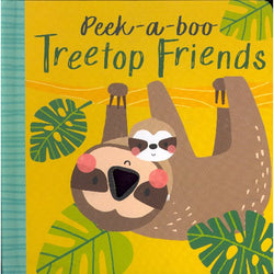 Peekaboo treetop friends