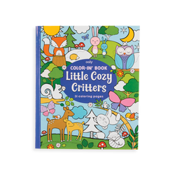 Ooly Coloring Book, Cozy Critters
