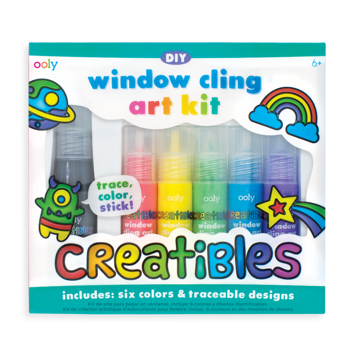 Window Cling Art Kit