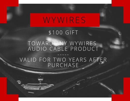 WyWires Gift Certificate $100