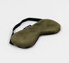 Camden Co Eye Mask - Olive Velvet