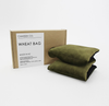Camden Co Wheat Bag - Olive Velvet