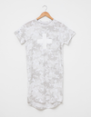 Stella and Gemma Camo Dress White Cross
