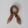 SOPHIE Mini Scarf - Freckles Spice, brown spot