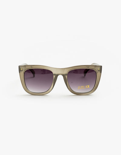 Stella and Gemma Sunglasses - Havana Nice Grey