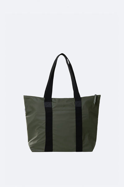 Rains Tote Bag Rush - Green, ARMY, WATERPROOF