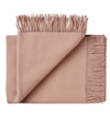 Weave Nevis Wool Throw - Rose