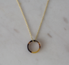 SOPHIE Tort Necklace - Dark/Gold