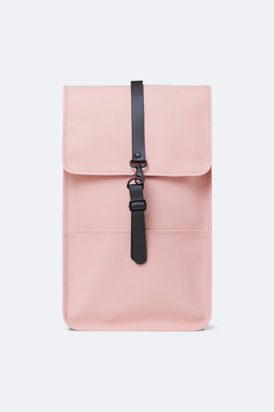 Rains Backpack - Coral, PINK, WATERPROOF