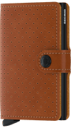 Secrid Miniwallet - Perforated Cognac