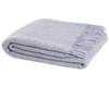 Weave St Ives Wool Throw - Fog