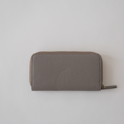 SOPHIE Hello Wallet - Mushroom, LEATHER, GREY, PURSE