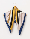 Stella and Gemma Square Scarf - Retro Geometric