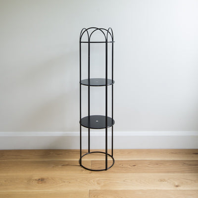 Ico Traders Mahoe Plant Stand Tall - Black