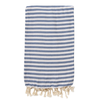 Izzy and Jean St Tropez Turkish Towel - Denim