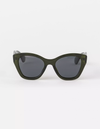 Stella and Gemma Sunglasses - Delphine Dark Green