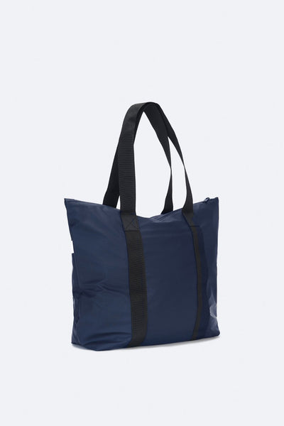 RAINS TOTE BAG RUSH, NAVY BLUE, OVERNIGHTER