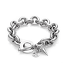 Silk and Steel Heirloom Bracelet - Silver