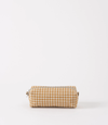 Citta Gingham Make Up Bag - Pumpkin, wash bag