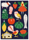 Kiwi Xmas Cards - Ornaments