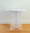 Ico Traders Omaha Cafe Table- White
