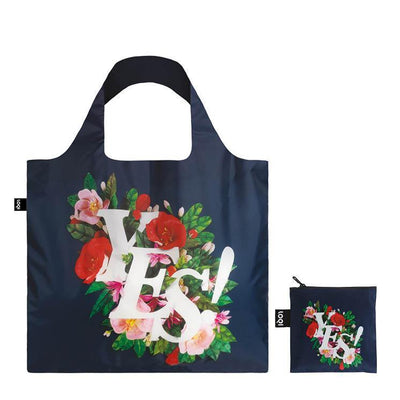 loqi shopping bag, reusable bag, foldup bag