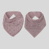Burrow & Be Bandana & Bib Set - Vintage Pink